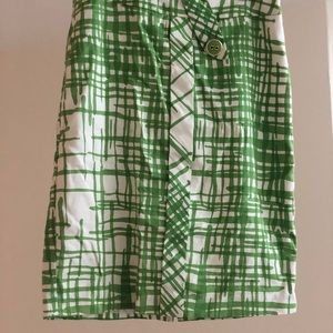 Trina Turk Pencil Skirt - Green Print